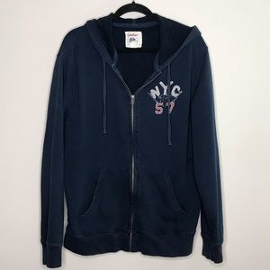 Lucky Brand Hell's Kitchen Boxing Club zip hoodie